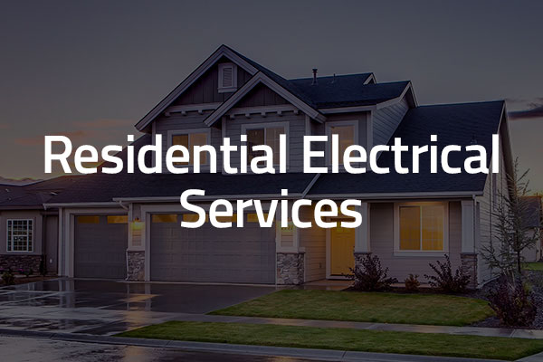 residential electrical services graphic
