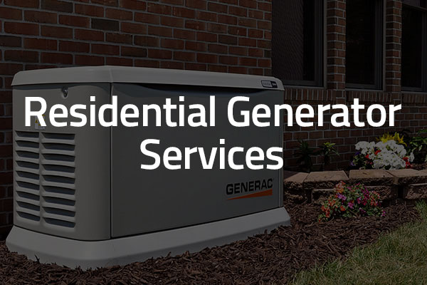 residential generator services graphic