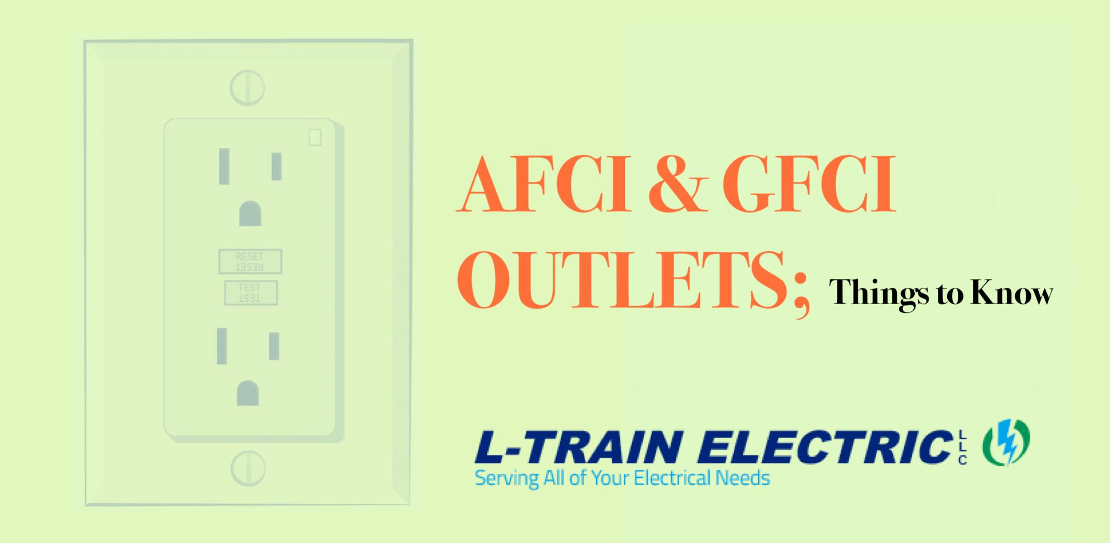 afci and gfci outlets